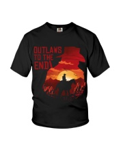 Outlaws to the end Youth T-Shirt thumbnail