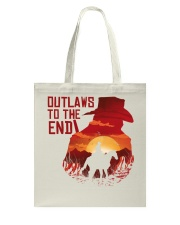 Outlaws to the end Tote Bag thumbnail