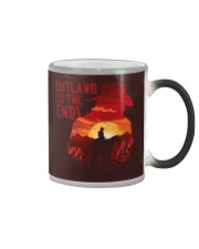 Outlaws to the end Color Changing Mug thumbnail
