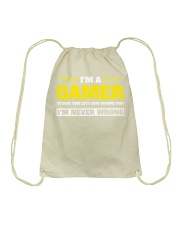 Play together - Stay together Drawstring Bag thumbnail