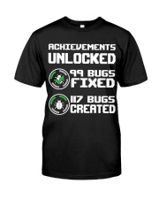 Achievements unlocked Classic T-Shirt front