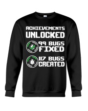Achievements unlocked Crewneck Sweatshirt thumbnail