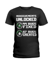 Achievements unlocked Ladies T-Shirt thumbnail
