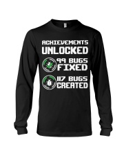 Achievements unlocked Long Sleeve Tee thumbnail