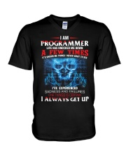 I am Programmer V-Neck T-Shirt thumbnail