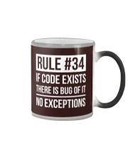 Rule 34 Color Changing Mug thumbnail