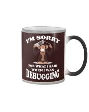 I am sorry Color Changing Mug thumbnail