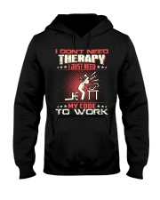 I dont need therapy Hooded Sweatshirt thumbnail