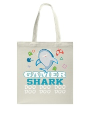 Gamer shark Tote Bag thumbnail