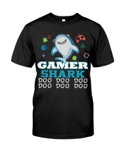 Gamer shark Classic T-Shirt front
