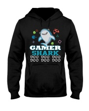 Gamer shark Hooded Sweatshirt thumbnail