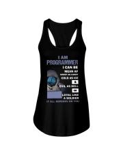 I am programmer Ladies Flowy Tank thumbnail