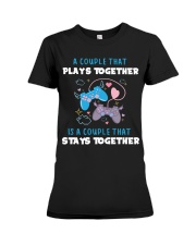 Play together - Stay together Premium Fit Ladies Tee thumbnail