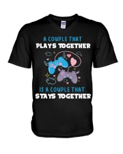 Play together - Stay together V-Neck T-Shirt thumbnail