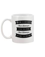 Mom and Son Mug back