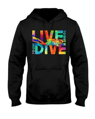 Live to dive dive to live