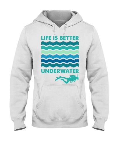 Life is better underwater