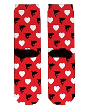 Shark Lover  Crew Length Socks back
