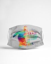 And To The Ocean I Go To Lose My Mind  Cloth face mask aos-face-mask-lifestyle-22