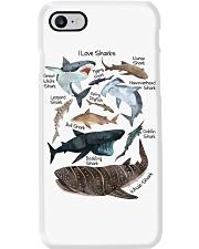 I Love Sharks Phone Case i-phone-7-case