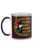 Always Be Nice To A Diver  Color Changing Mug color-changing-left