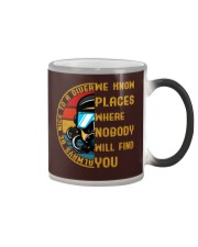 Always Be Nice To A Diver  Color Changing Mug color-changing-right