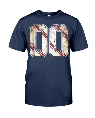 00 Baseball Jersey Number 00 R