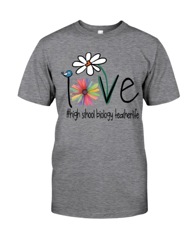 Love High school biology teacher Life - Art