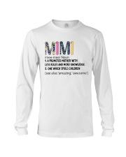 Mimi Definition Colorful Long Sleeve Tee thumbnail