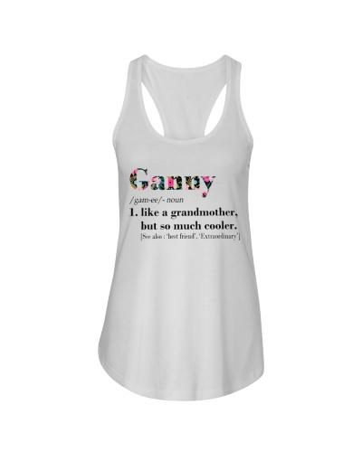 Ganny - Cooler - Flowers - White