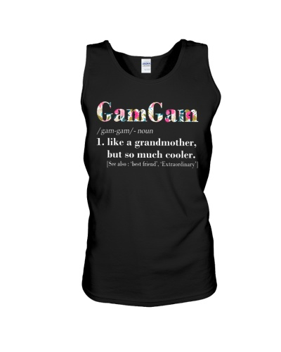 GamGam - Cooler - Flowers - Black