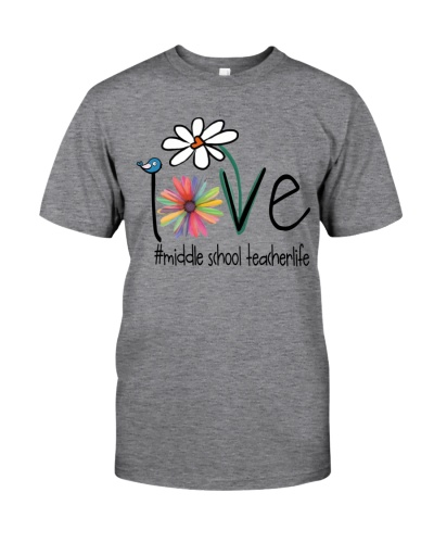 Love Middle school teacher Life - Art