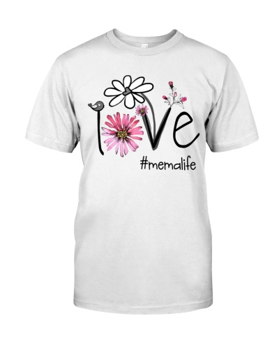Love Mema Life - Flower