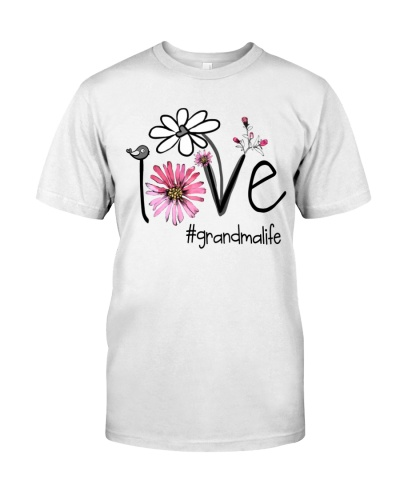 Love Grandma Life - Flower