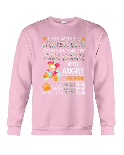 Mess with my grandchild gigi bear shirt