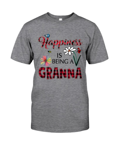 Happiness Is Being A Granna - Art