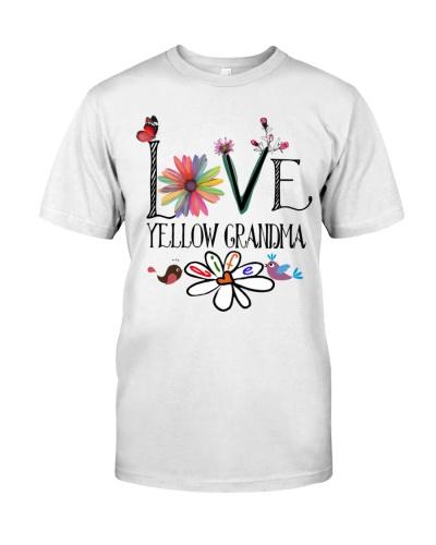 Love Art - Yellow Grandma Life