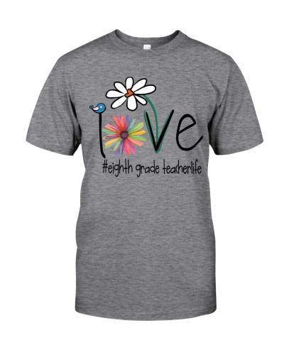 Love Eighth grade teacher Life - Art