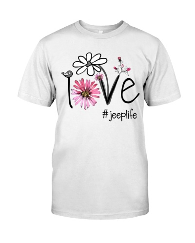 Love Jeep Life - Flower