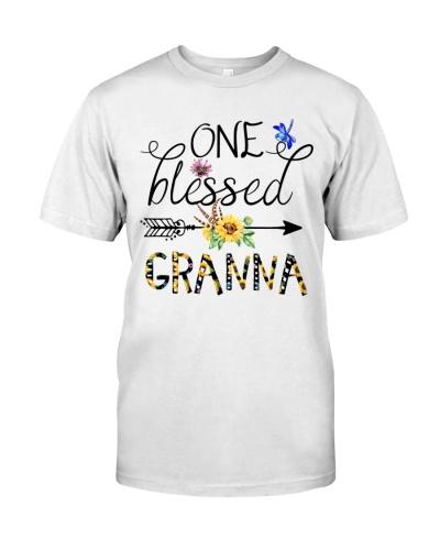 One Blessed Granna - Flower