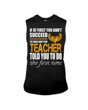 STICKER TEACHER Sleeveless Tee thumbnail