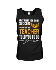 STICKER TEACHER Unisex Tank thumbnail