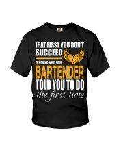 STICKER BARTENDER Youth T-Shirt thumbnail