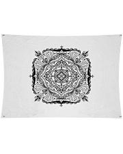 """Choras Mandala Design Wall Tapestry - 36"""" x 26"""" thumbnail"""