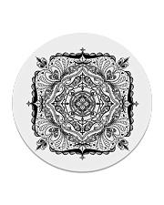 Choras Mandala Design Circle Coaster thumbnail
