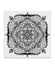 Choras Mandala Design Square Coaster thumbnail
