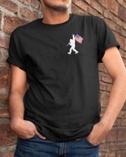 Bigfoot  2-sided  Classic T-Shirt apparel-classic-tshirt-lifestyle-26