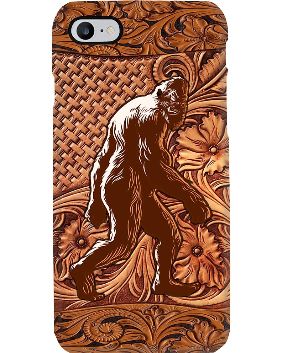 Bigfoot Wood Phone Case