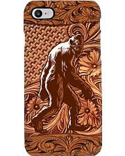Bigfoot Wood Phone Case i-phone-8-case
