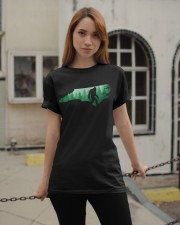 North Carolina Bigfoot  Classic T-Shirt apparel-classic-tshirt-lifestyle-19